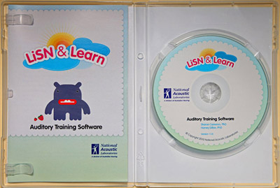 LiSN & Learn Booklet and CD